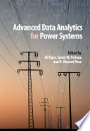 Advanced Data Analytics for Power Systems Book