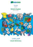 BABADADA  Algerian  in arabic script    British English  visual dictionary  in arabic script    visual dictionary