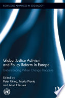 Global Justice Activism and Policy Reform in Europe