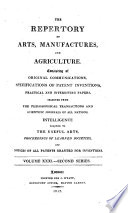 The Repertory Of Arts Manufactures And Agriculture
