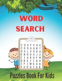 Word Search Puzzles Book For Kids