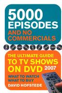 5000 Episodes and No Commercials Pdf/ePub eBook