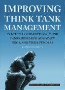 Improving Think Tank Management