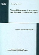 Natural Resources, Governance, and Economic Growth in Africa