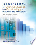 Statistics for Criminal Justice and Criminology in Practice and Research Book