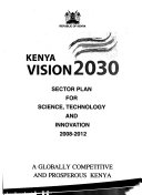 Sector Plan for Science  Technology and Innovation  2008 2012 Book