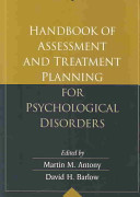 Handbook of Assessment and Treatment Planning for Psychological Disorders Book