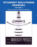 Student Solutions Manual for Essential University Physics