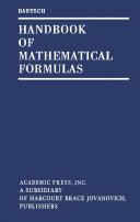 Handbook of Mathematical Formulas Pdf/ePub eBook