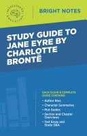 Pdf Study Guide to Jane Eyre by Charlotte Brontë Telecharger