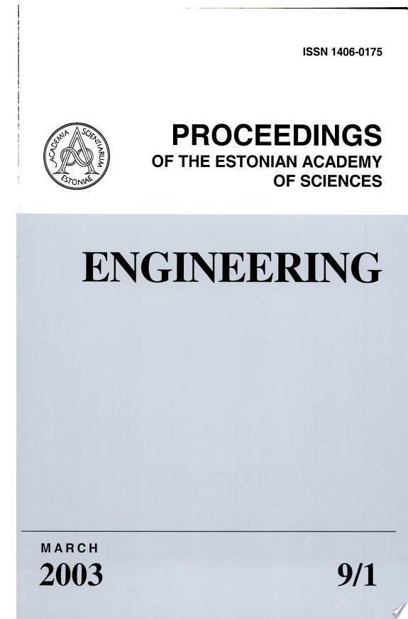 Proceedings+of+the+Estonian+Academy+of+Sciences%2C+Engineering