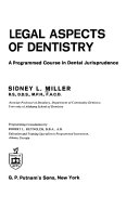 Legal Aspects Of Dentistry Book PDF