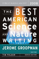 The Best American Science and Nature Writing 2008 Book