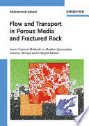 Flow And Transport In Porous Media And Fractured Rock Book PDF