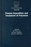 Plasma Deposition and Treatment of Polymers: Volume 544
