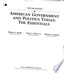 American Government and Politics Today