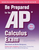 Be Prepared for the AP Calculus Exam