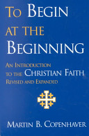 To Begin At The Beginning Book PDF