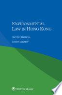 Environmental Law in Hong Kong