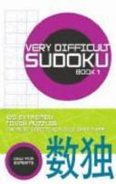 Very Difficult Sodoku
