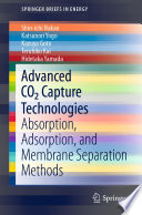 Advanced CO2 Capture Technologies
