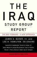 The Iraq Study Group Report Pdf/ePub eBook