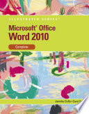 Microsoft Word 2010 Illustrated Complete Book PDF