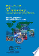 COMMON FUNDAMENTALS AND UNIT OPERATIONS IN THERMAL DESALINATION SYSTEMS   Volume III