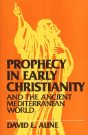 Prophecy in Early Christianity and the Ancient Mediterranean World ebook