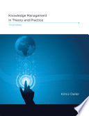 Knowledge Management in Theory and Practice  third edition Book