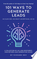 101 Ways to Generate Leads