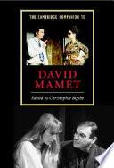 The Cambridge Companion To David Mamet