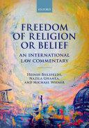 Freedom of Religion Or Belief