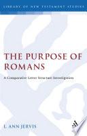 The Purpose Of Romans