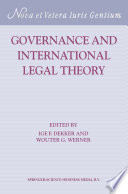 Governance And International Legal Theory