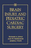 Brain Injury and Pediatric Cardiac Surgery