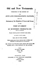 Pdf The Old and New Testaments Connected in the History of the Jews and Neighbouring Nations