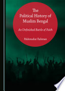 The Political History of Muslim Bengal