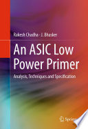 An ASIC Low Power Primer