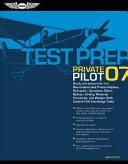 Private Pilot 2007