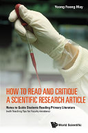 How to Read and Critique a Scientific Research Article: