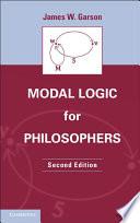 Modal Logic for Philosophers