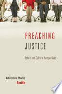 Preaching Justice Book