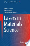 Lasers In Materials Science Book PDF