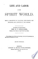 Life And Labor In The Spirit World PDF