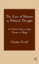 The Law of Nations in Political Thought