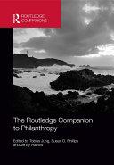 The Routledge Companion to Philanthropy Pdf/ePub eBook