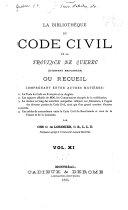 La Bibliothèque du Code civil de la province de Québec