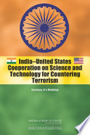 India United States Cooperation on Science and Technology for Countering Terrorism