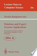 Database And Expert Systems Applications Book PDF